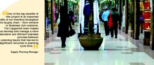 Luxury Retailer Benefits From Supply Chain Planning Transformation