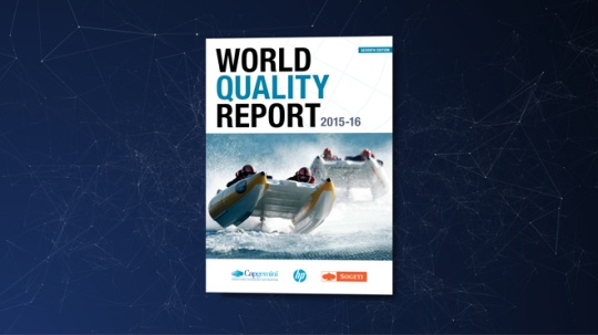 World Quality Report 2015-16 Infographic