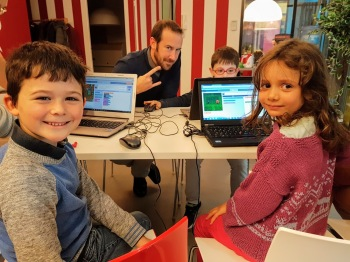 Bridging the digital divide for young learners with fun