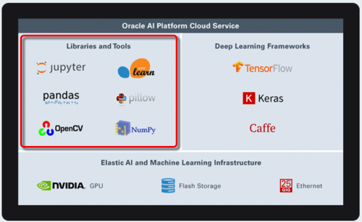 Oracle AI Cloud's Libraries and Tools