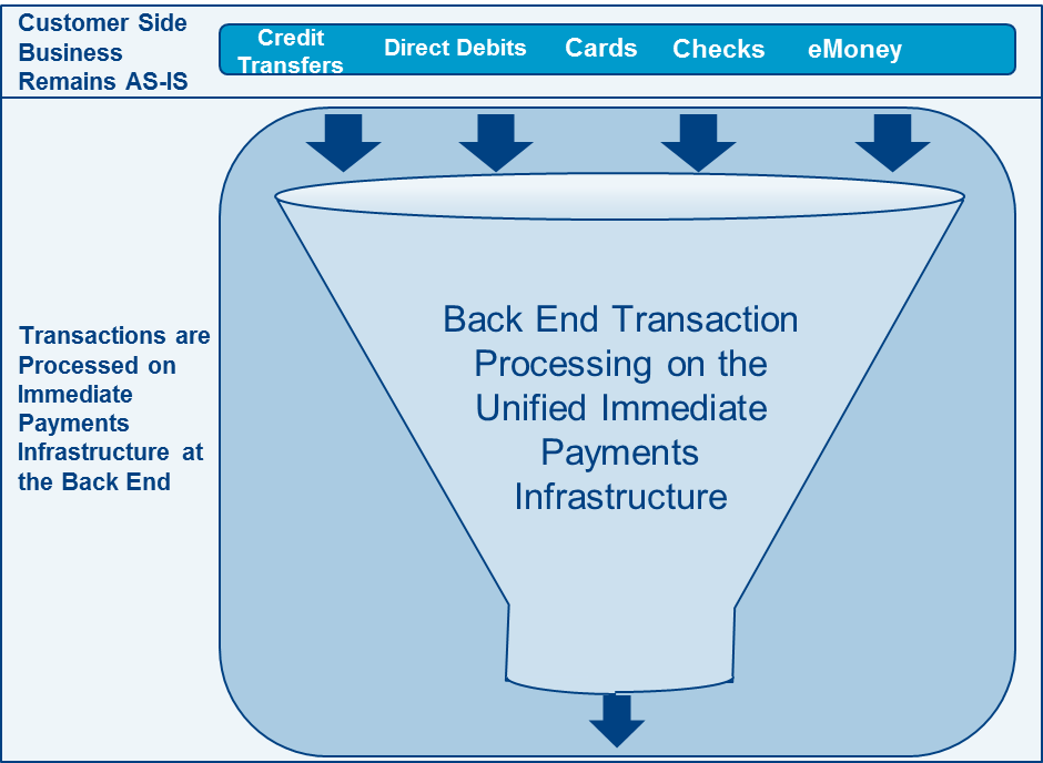Convergence and Rationalization of Payments Instruments