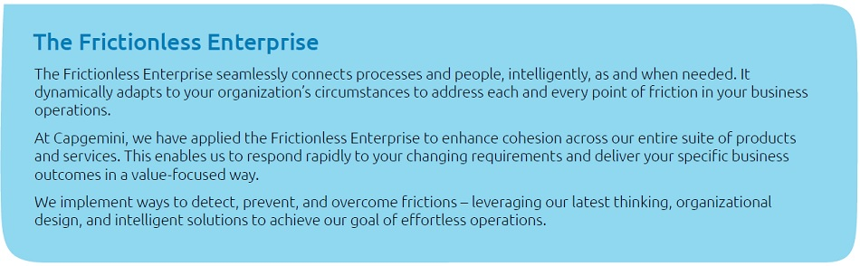 The Frictionless Enterprise