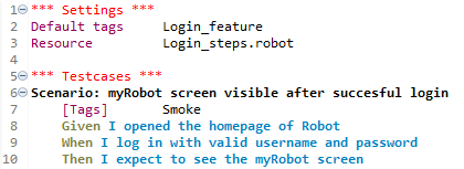 Robot Framework: a test automation rainbow cake