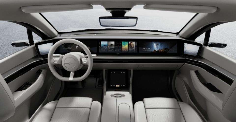 CES 2020 - Sony Vision-S Concept Car