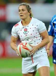 England International Rachael Burford - Capgemini Rugby7s ambassador
