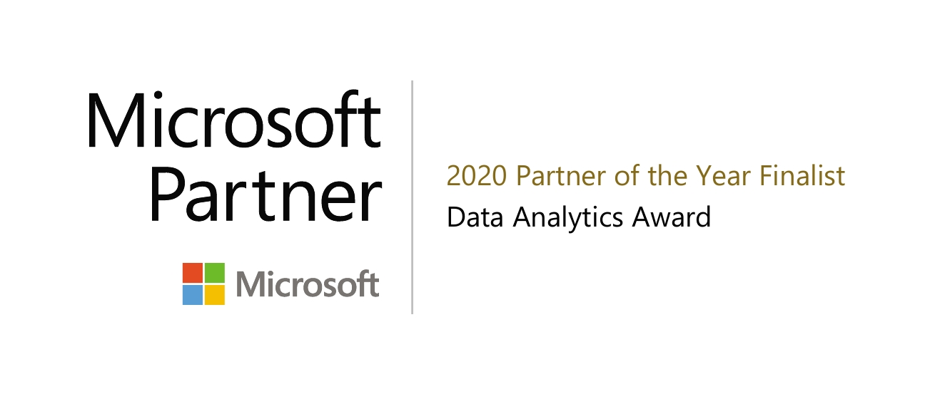 Microsoft Partner of the Year 2020 Award