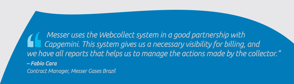 Fabio Cara, Contract Manager, Messer Gases Brazil