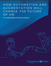Augmentation HR