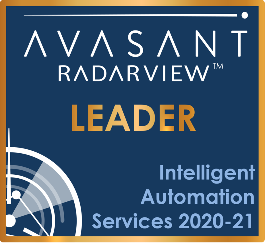Avasant RadarView for Intelligent Automation Services