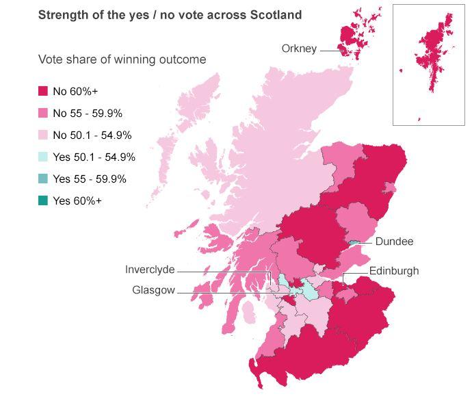 BBC voting map
