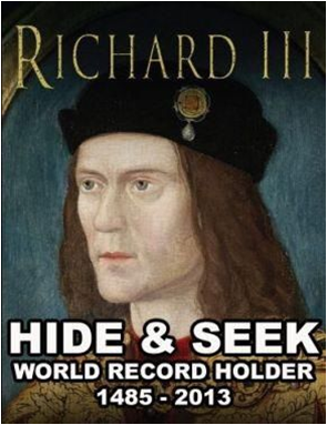 Richard III new Hide and Seek record holder