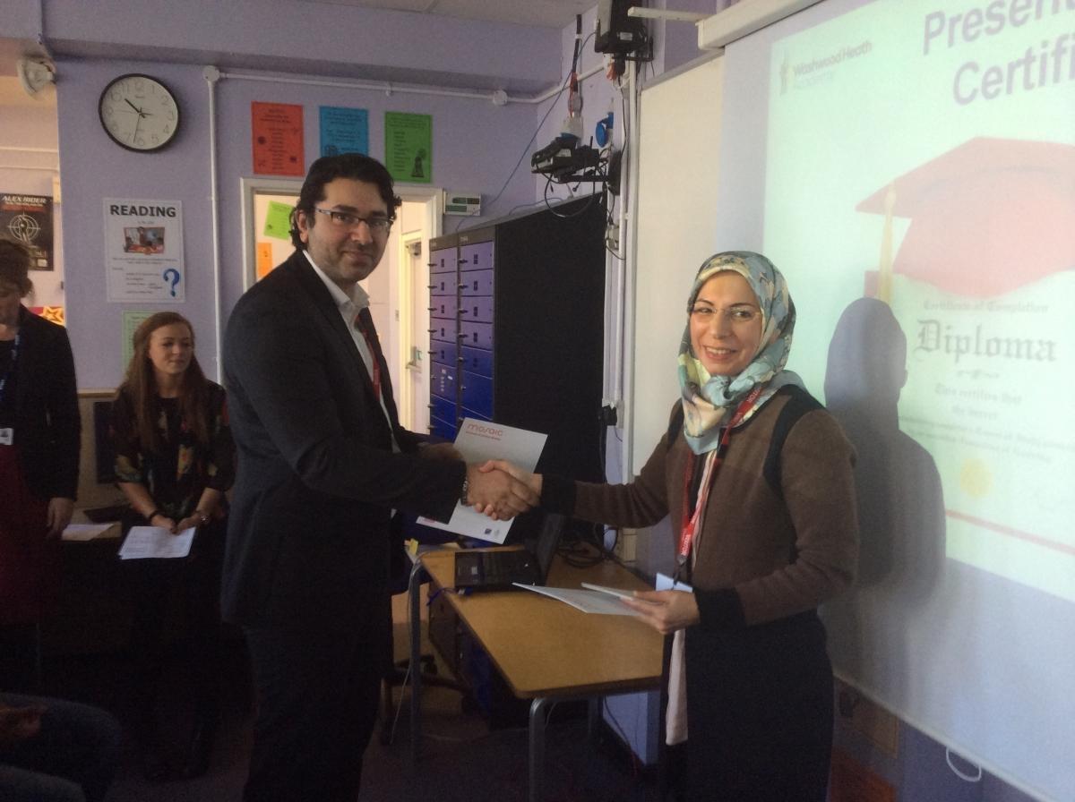 Welcoming Capgemini's Amran Majid to the Mosaic mentoring programme