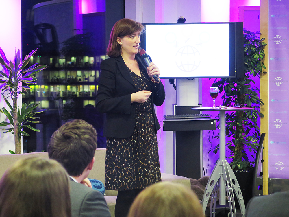 Nicky Morgan MP at Capgemini's Women's Business Network event