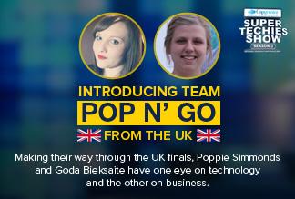 Pop n' Go UK Super Techies