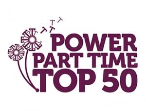Power Part Time Top 50 logo