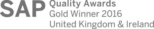 SAP Quality Awards 2016 for Capgemini