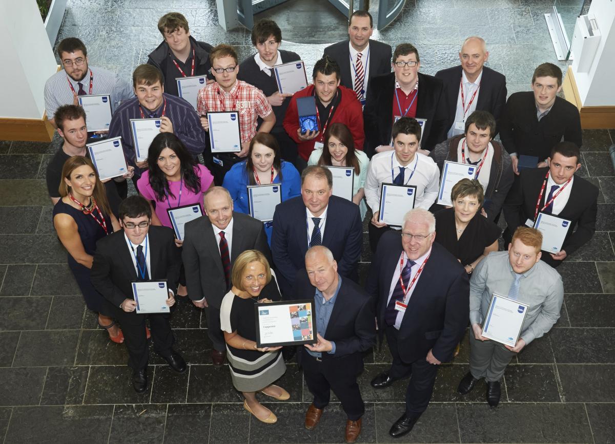Capgemini Highlands apprentices graduating
