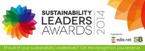 Sustainability Leaders Awards 2014 logo