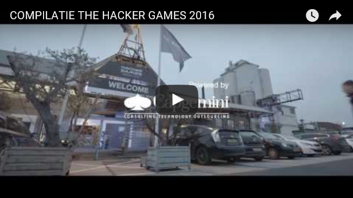 Compilatie The Hacker Games 2016